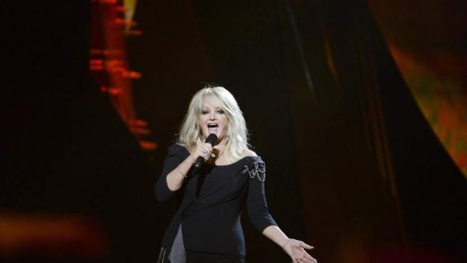 La mítica Bonnie Tyler, representando a Reino Unido.
