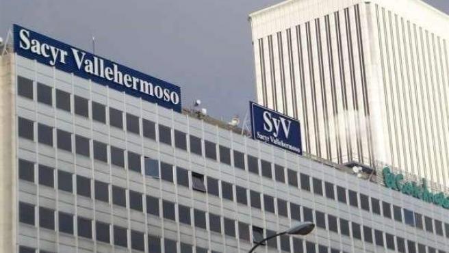 Imagen de archivo de un edificio de oficinas de Sacyr.