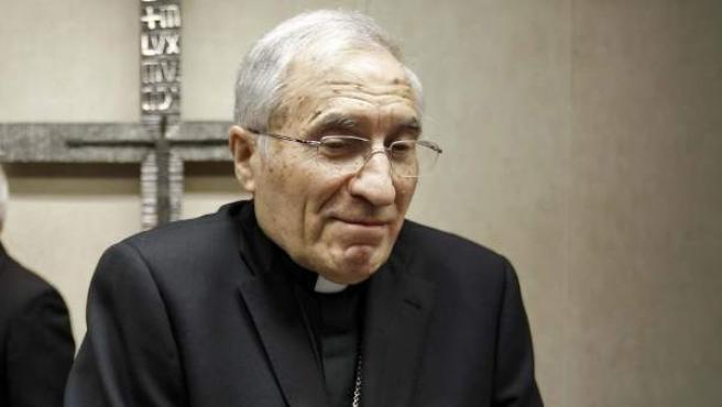 El presidente de la Conferencia Episcopal Española (CEE), Antonio María Rouco Varela.