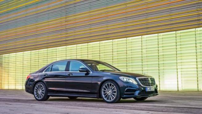La gama del nuevo Clase S de Mercedes contará con dos versiones híbridas, una diésel y otra de gasolina.