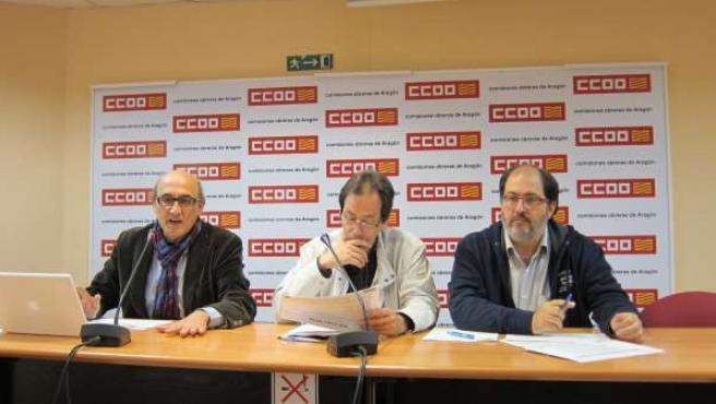 Presentación de la propuesta Tren 2020 en Aragón