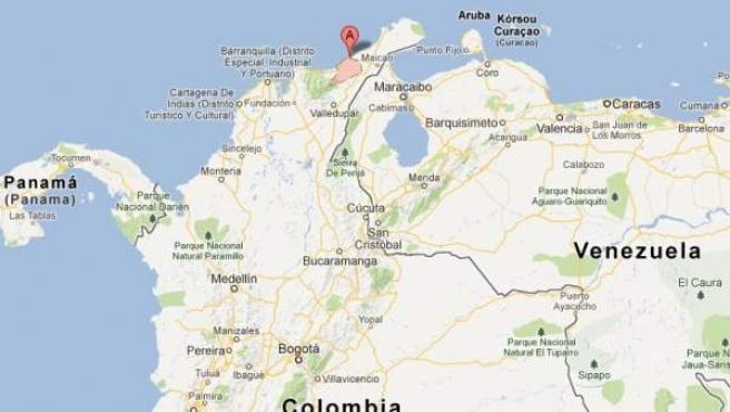 La Guajira, donde fue secuestrada una pareja.