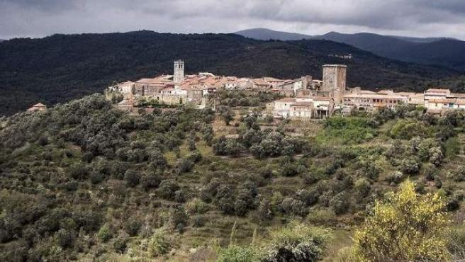 La medieval Miranda del Castañar, en la Sierra de Francia.