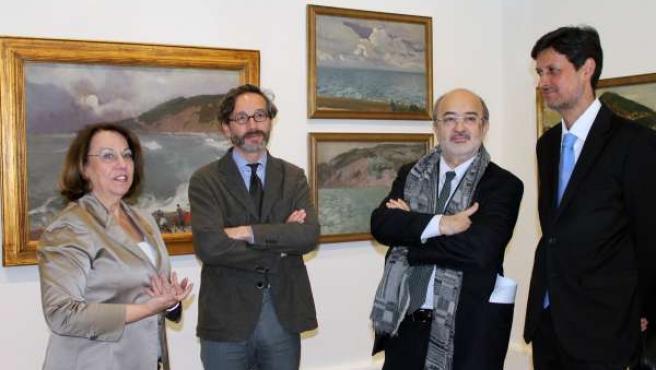 Inauguración de la muestra en el Museo Sorolla