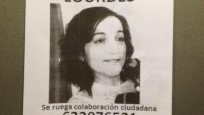 El rostro de la mujer desaparecida en Granada