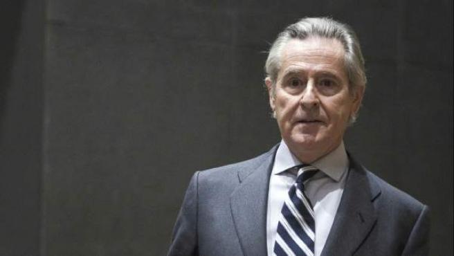 El expresidente de Caja Madrid Miguel Blesa, en una imagen de 2012