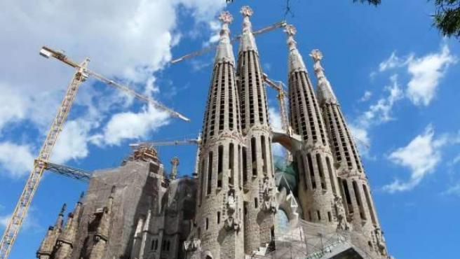 Imagen del icónico monumento de la capital catalana.