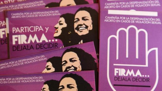 Acto en Lima (Perú) por el Día Internacional de acción por la Salud de la Mujer.