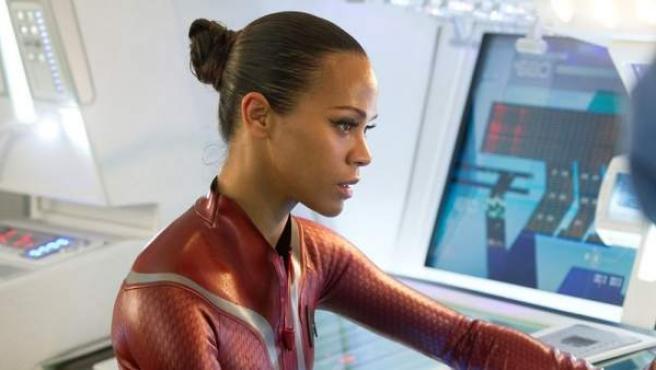 Zoe Saldana vuelve a formar parte de la tripulación de Star Trek en la nueve entrega de la saga, que dirige J.J. Abrams.