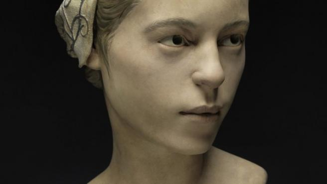 Reconstrucción facial de la muchacha inglesa de 14 años canibalizada en Jamestown