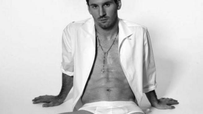 Messi en calzoncillos para Dolce&Gabbana