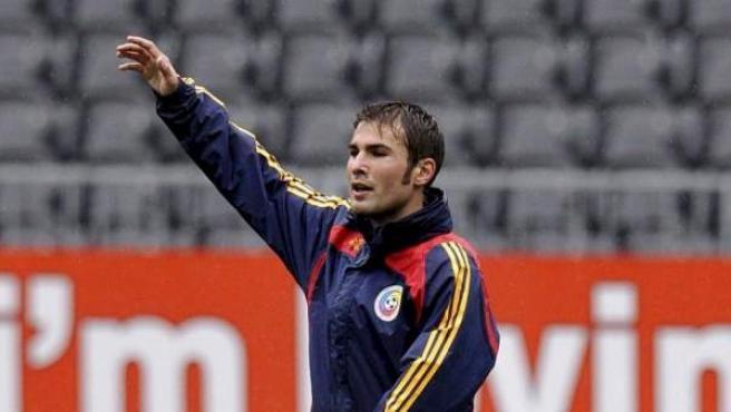 El futbolista rumano Adrian Mutu.