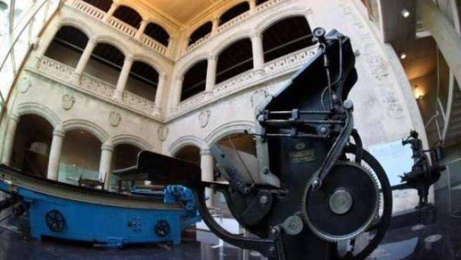 Interior del museo bibat