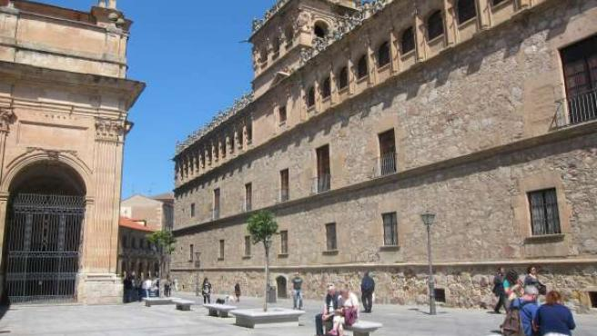 Plaza de las Agustinas, uno de los puntos por los que pasará la carrera