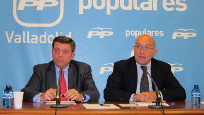 González Gago y Carnero presentan la Convención del PP de Valladolid