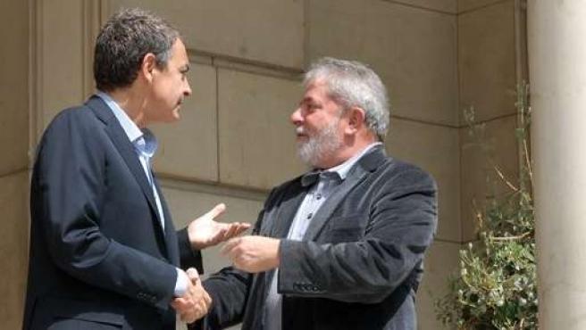 Zapatero Y Lula Da Silva (Archivo)
