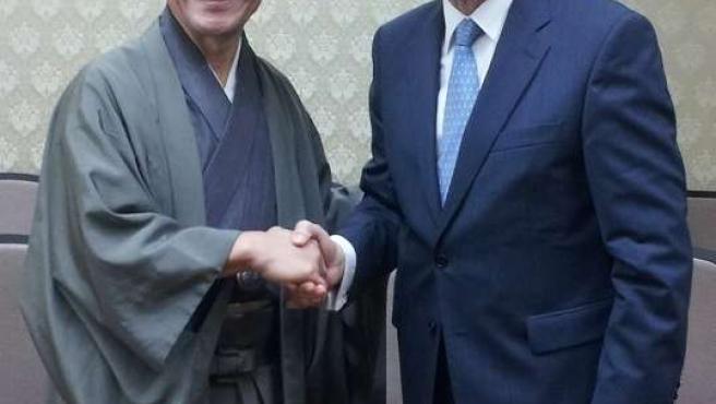Los alcaldes de Kioto y de Málaga