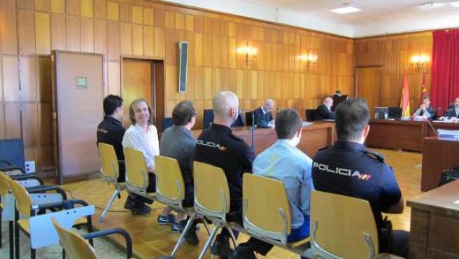 Acusados en el banquillo por la muerte de un anciano en Molina