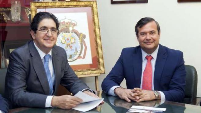 José Joaquín Gallardo y Juan Carlos Hernández