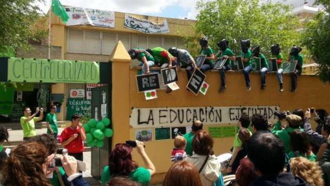 Performance de interinos encerrados en el IES Las Aguas de Sevilla
