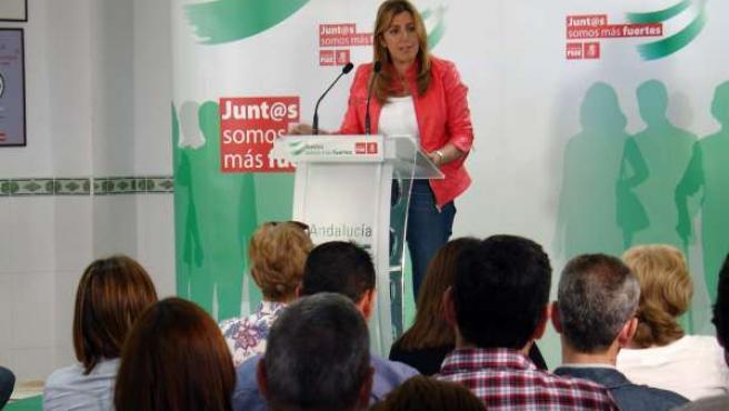 Susana Díaz, en Carboneras (Almería)