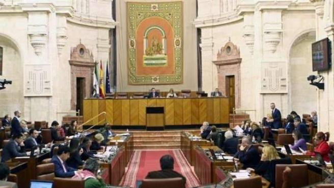 Imagen de archivo del Parlamento andaluz.