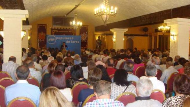 Más de 400 afiliados participan en la jornada de trabajo del PP de Lorca