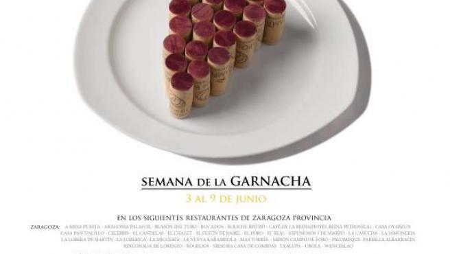 Cartel de la semana de la Garnacha.