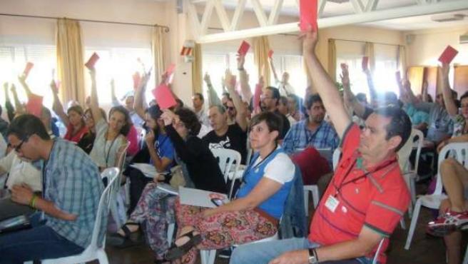 Asamblea provincial de IU Huelva