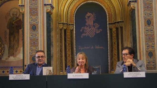 Puchalt junto a Lis y Magraner en la rueda de prensa