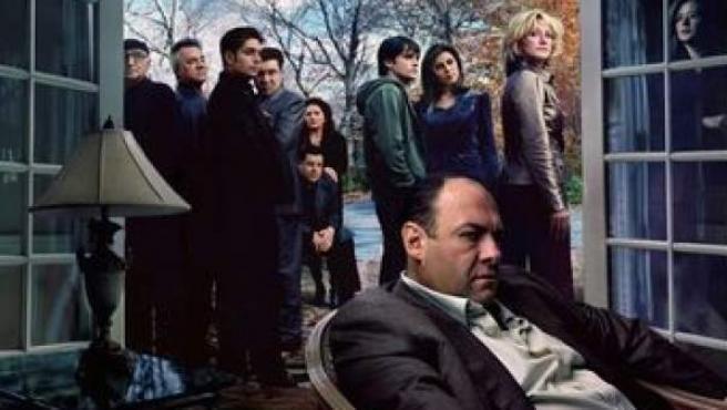 Imagen promocional de la serie de televisión 'Los Soprano'.