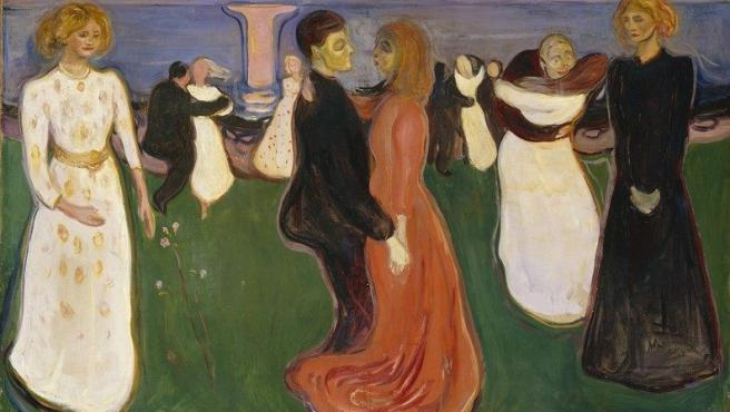 'El baile de la vida' (1899-1900), óleo de Edvard Munch