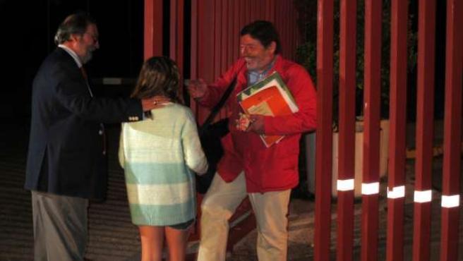 Francisco Javier Guerrero sale de la cárcel Sevilla-I