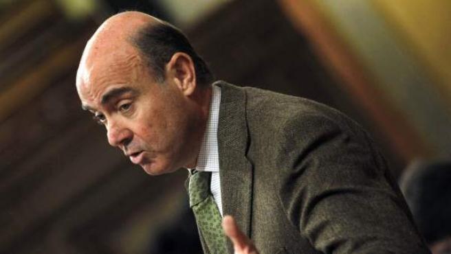 El ministro de Economía, Luis de Guindos, en una fotografía de archivo.