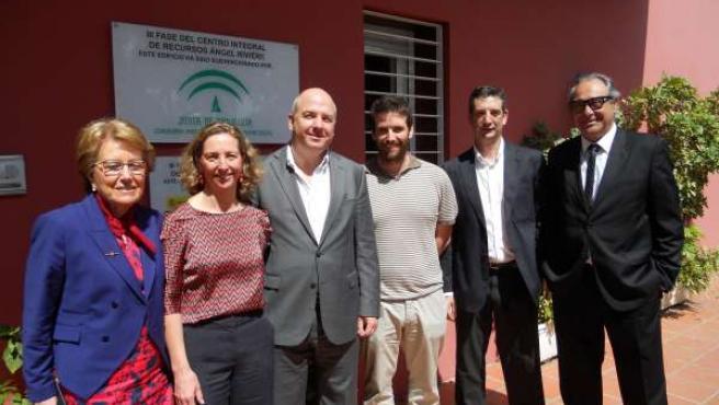 Visita a la sede de Autismo Sevilla