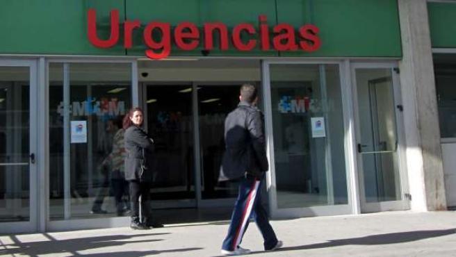 Las Urgencias del Hospital Infanta Leonor.