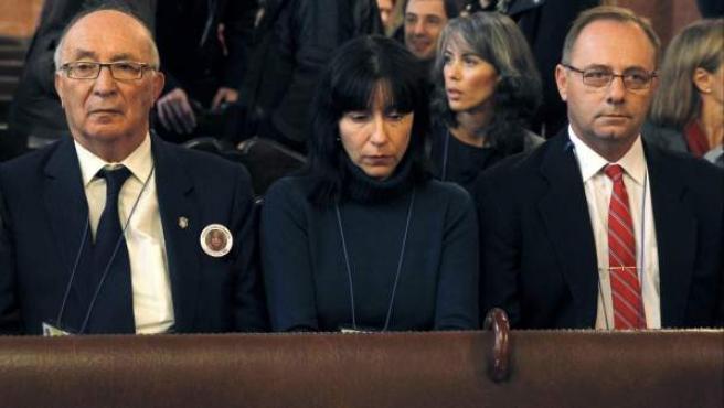 El abuelo y los padres de Marta del Castillo.