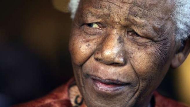 Nelson Mandela, el día que anunció su retirada de la política.