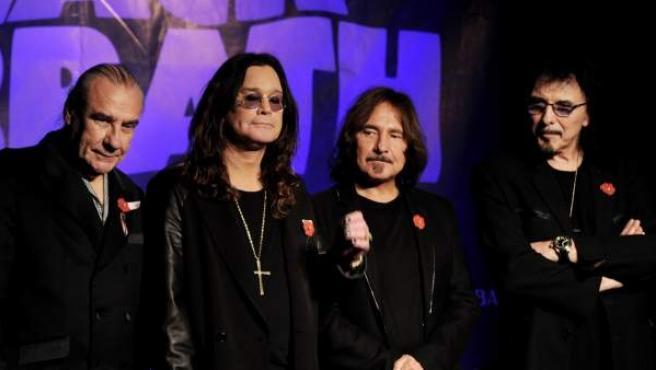La formación Black Sabbath.