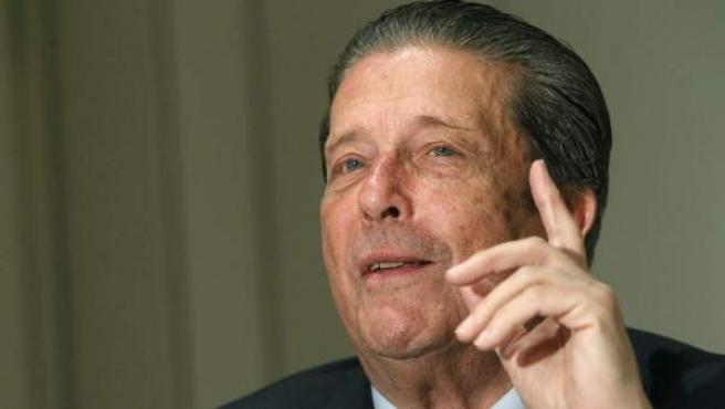 El presidente de la Comisión Internacional contra la Pena de Muerte, Federico Mayor Zaragoza.