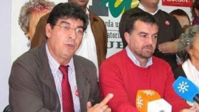 Diego Valderas y Antonio Maíllo.