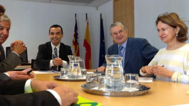 Joaquín García y Josep Oliver