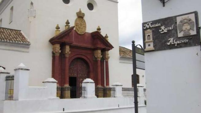 Iglesia De Macharaviaya (Bernardo De Gálvez) Pueblo De Málaga