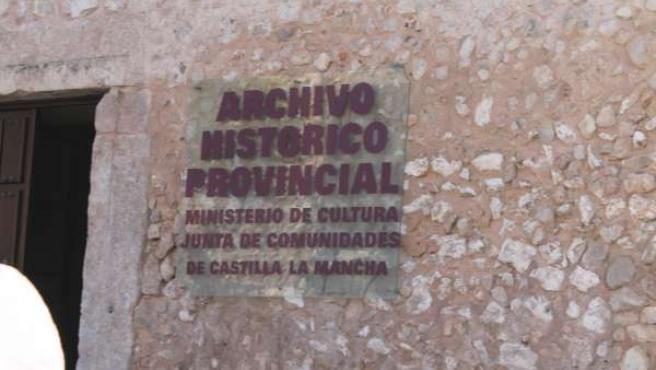 ARCHIVO PROVINCIAL CUENCA