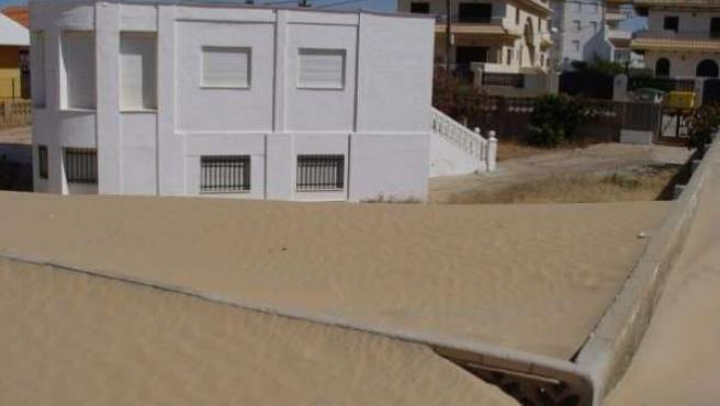 Imagen construcción en Punta Umbría (Huelva)