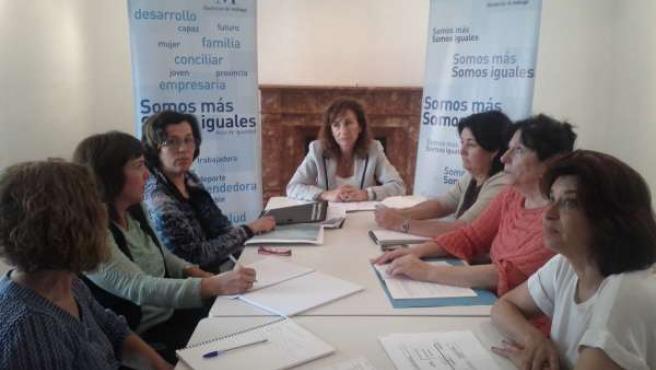 Reunión Plan Transversal de Igualdad de Género