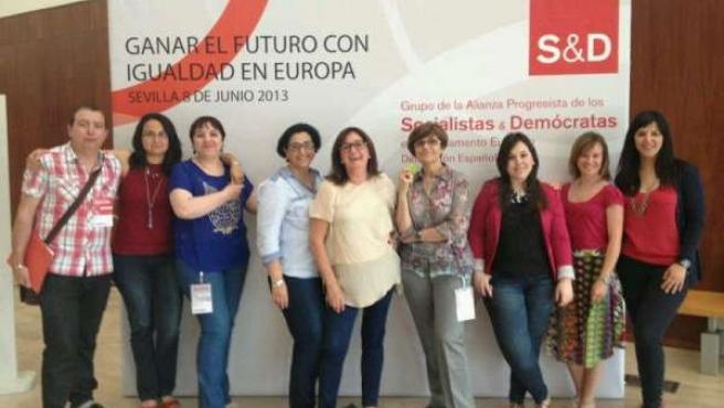 Murcianas socialistas en Sevilla