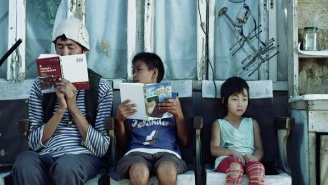 Frame de la película kazaja Talgat