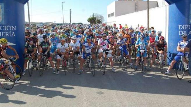 Los ciclistas almerienses
