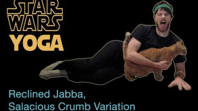 Aprende yoga con 'Star Wars'